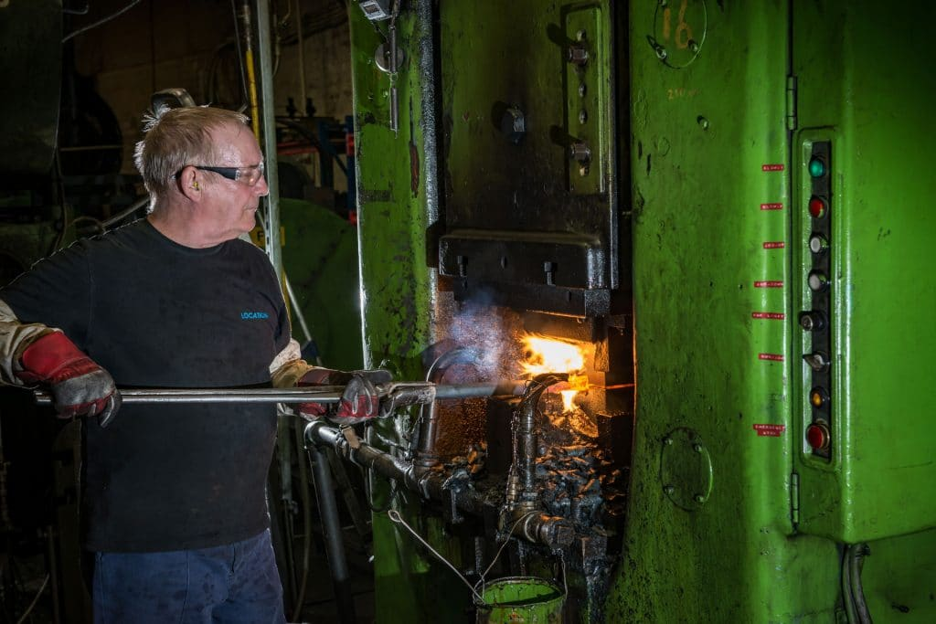 Hot Forged