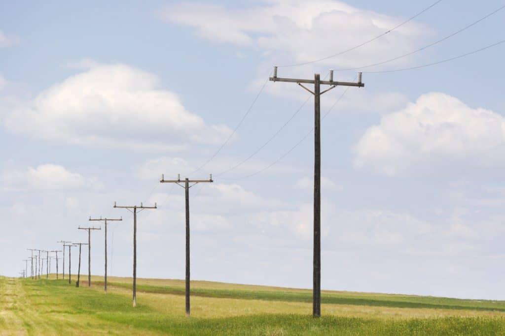 power lines overhead