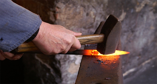 hand-forged process