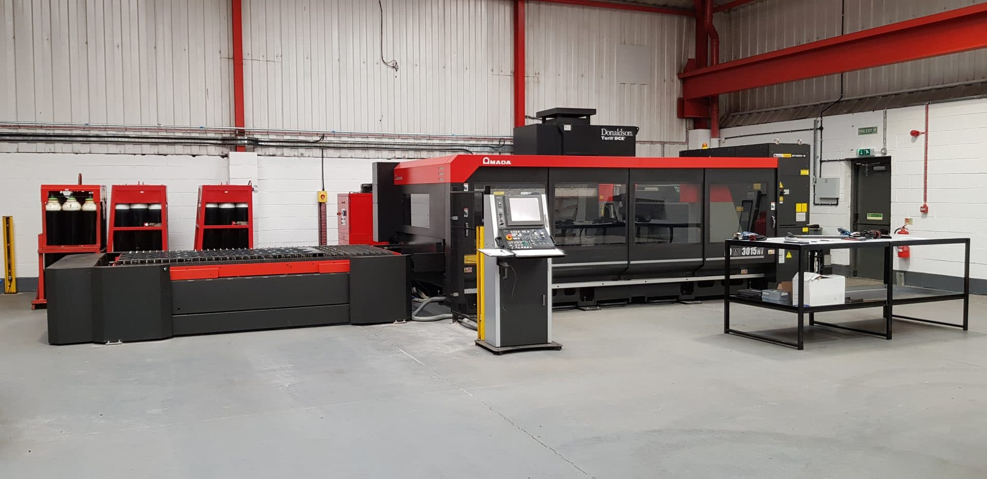Amada - New Laser Cutting Machine