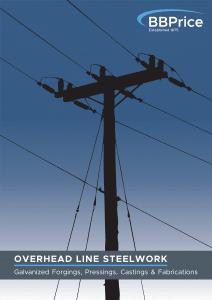 B.B. Price Limited - Overhead Line - Brochure