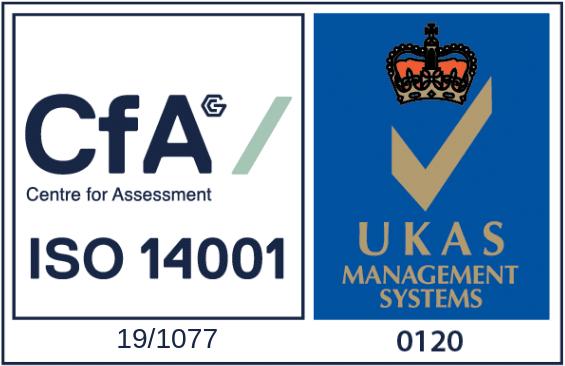 CfA - ISO 14001 - Stamp