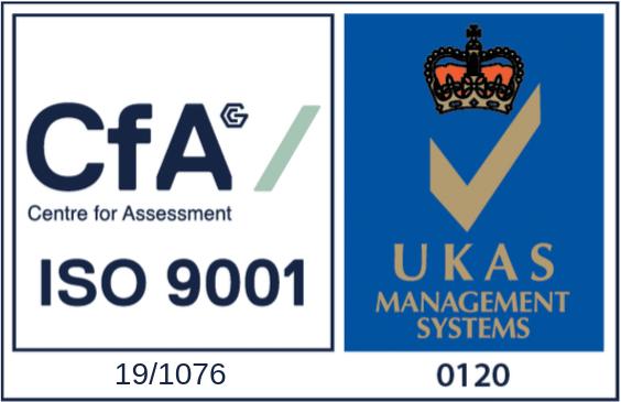 CfA - ISO 9001 - Stamp