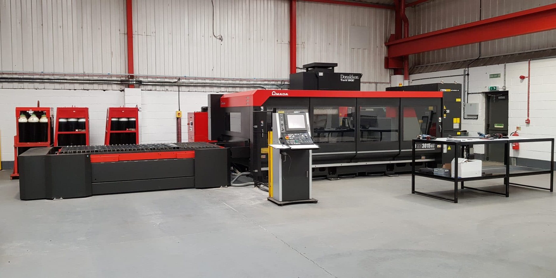 New Laser Cutting Machine